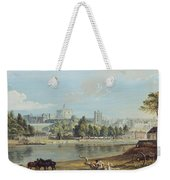 Windsor Castle From The Eton Shore Weekender Tote Bag