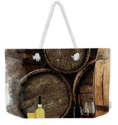 Wine For Life Weekender Tote Bag