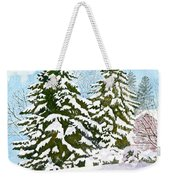 Winter Delight Weekender Tote Bag
