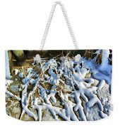 Winter Design Weekender Tote Bag