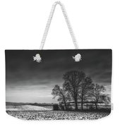Winter Fields Weekender Tote Bag