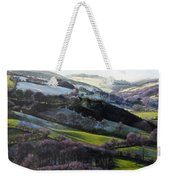 Winter In North Wales Weekender Tote Bag