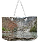Winter Landscape At Hungry Mother State Park Weekender Tote Bag