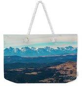 Winter Sangre De Cristo Mountains Weekender Tote Bag