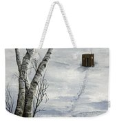 Winter Splendor Weekender Tote Bag