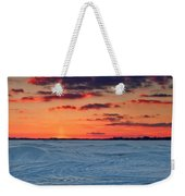 Winter Sun Has Set Weekender Tote Bag