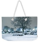 Winter Weekender Tote Bag by Svetlana Sewell
