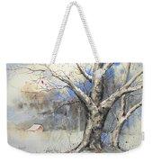 Winter Tree Weekender Tote Bag
