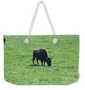 Wisconsin Buffalo Weekender Tote Bag
