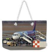 Wizz Air Jet And Fire Brigade   Weekender Tote Bag