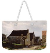 Women Going To The Woods Weekender Tote Bag