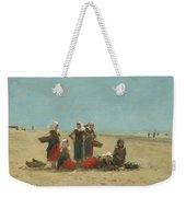 Women On The Beach At Berck Weekender Tote Bag