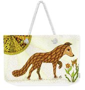 Wonder Weekender Tote Bag by Barbara McConoughey
