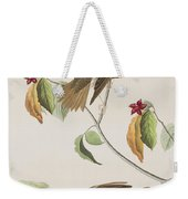 Wood Thrush Weekender Tote Bag