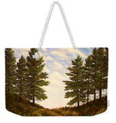 Wooded Path Weekender Tote Bag