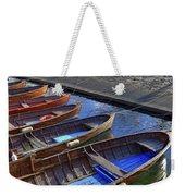 Wooden Boats Weekender Tote Bag