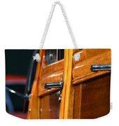 Woodie Handle Weekender Tote Bag