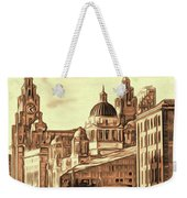 World Famous Three Graces Weekender Tote Bag