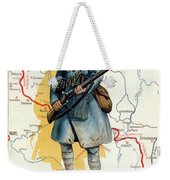World War I: French Poster Weekender Tote Bag