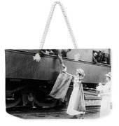 World War I: Red Cross Weekender Tote Bag