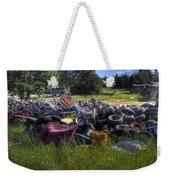 Wrecking Yard Study 9 Weekender Tote Bag
