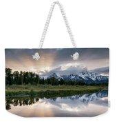 Wyoming Sunset Weekender Tote Bag