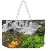 Yacolt Falls In Autumn Weekender Tote Bag