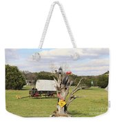 Yard Art 115 Weekender Tote Bag