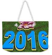Year 2016 Weekender Tote Bag