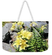 Yellow Day Lillies Weekender Tote Bag