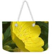 Yellow Evening Primrose Weekender Tote Bag