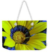 Yellow Floral Weekender Tote Bag