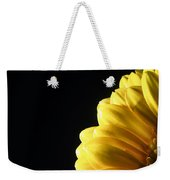 Yellow Gerbera Flower Weekender Tote Bag