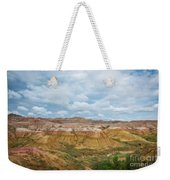 Yellow Mounds Of Badlands Np Weekender Tote Bag