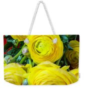 Yellow Ranunculus Weekender Tote Bag