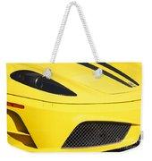Yellow Stradale Weekender Tote Bag