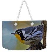 Yellow Throat Warbler Weekender Tote Bag