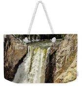 Yellowstone Falls Weekender Tote Bag