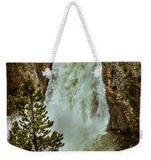 Yellowstone Upper Falls Weekender Tote Bag