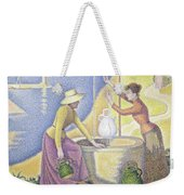Young Women Of Provence At The Well, 1892 Weekender Tote Bag