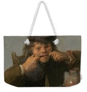 Youth Making A Face Weekender Tote Bag