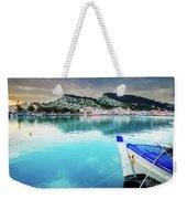 Zaante Town, Zakinthos Greece Weekender Tote Bag