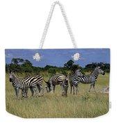Zebra Group Weekender Tote Bag