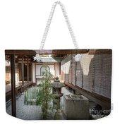 Zen Garden, Kyoto Japan Weekender Tote Bag