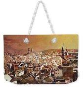 Zurich Skyline Weekender Tote Bag