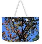 10-15-16--0776 Blue Sky # 2 Don't Drop The Crystal Ball Weekender Tote Bag