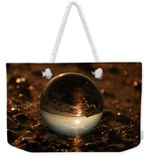 10-17-16--8590 The Moon, Don't Drop The Crystal Ball, Crystal Ball Photography Weekender Tote Bag