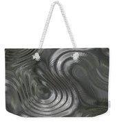 Alien Fluid Metal Weekender Tote Bag
