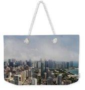 Chicago Skyline Aerial Photo Weekender Tote Bag