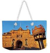 Edinburgh Castle, Scotland Weekender Tote Bag